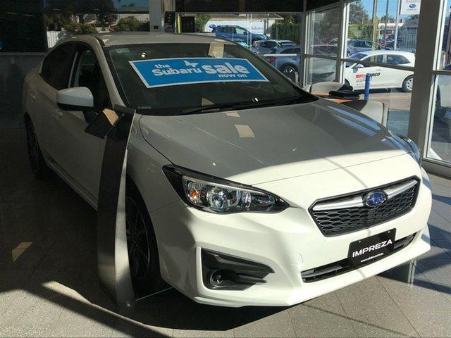 New Subaru Impreza G5 MY19 2.0i CVT AWD, 2019 Subaru Impreza G5 MY19 2.0i CVT AWD Crystal White Pearl 7 Speed Constant Variable Sedan