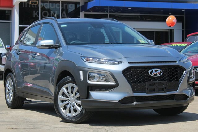 New Hyundai Kona OS.3 MY20 Go 2WD, 2019 Hyundai Kona OS.3 MY20 Go 2WD Lake Silver 6 Speed Sports Automatic Wagon