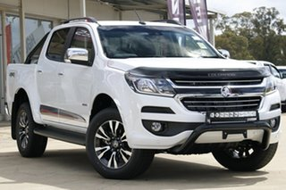 2019 Holden Colorado RG MY20 Storm Pickup Crew Cab Summit White 6 Speed Sports Automatic Utility.