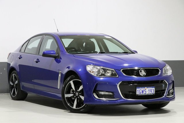 Used Holden Commodore VF II MY17 SV6, 2017 Holden Commodore VF II MY17 SV6 Blue 6 Speed Automatic Sedan