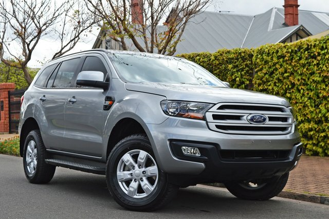 Used Ford Everest UA 2018.00MY Ambiente 4WD, 2017 Ford Everest UA 2018.00MY Ambiente 4WD Silver 6 Speed Sports Automatic Wagon