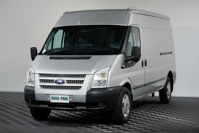 Used Ford Transit VM MY13 350 Mid Roof LWB, 2013 Ford Transit VM MY13 350 Mid Roof LWB Silver 6 Speed Manual Van