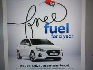 2018 Hyundai i30 PD2 MY18 Active Platinum Silver 6 Speed Sports Automatic Hatchback