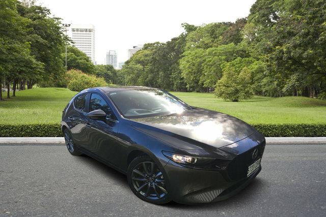 Demo Mazda 3 BP2HLA G25 SKYACTIV-Drive Evolve, 2019 Mazda 3 BP2HLA G25 SKYACTIV-Drive Evolve Machine Grey 6 Speed Sports Automatic Hatchback