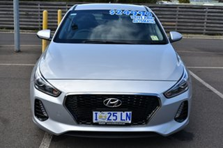 2018 Hyundai i30 PD2 MY18 Active Platinum Silver 6 Speed Sports Automatic Hatchback.