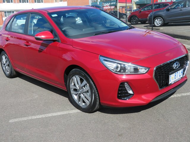 Demo Hyundai i30 PD2 MY18 Active, 2018 Hyundai i30 PD2 MY18 Active Fiery Red 6 Speed Sports Automatic Hatchback