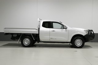 2016 Nissan Navara NP300 D23 RX (4x4) Silver 6 Speed Manual King Cab Chassis