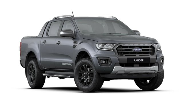 New Ford Ranger  Wildtrak 2.0 (4x4), 2019 Ford Ranger PX MkIII 2019.7 Wildtrak 2.0 (4x4) Meteor Grey 10 Speed Automatic Double Cab Pickup