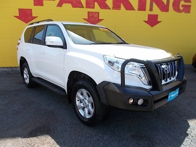 Used Toyota Landcruiser Prado GDJ150R GXL, 2017 Toyota Landcruiser Prado GDJ150R GXL White 6 Speed Sports Automatic Wagon