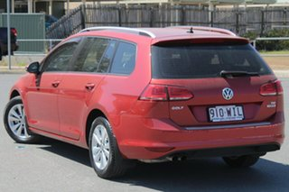 2015 Volkswagen Golf VII MY16 92TSI DSG Comfortline Sunset Red 7 Speed Sports Automatic Dual Clutch.