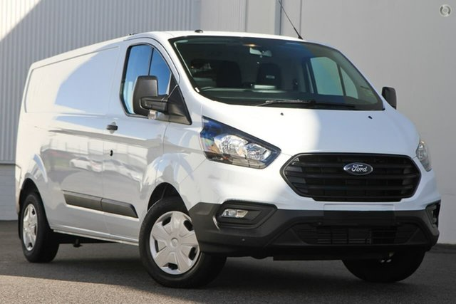 Demo Ford Transit Custom VN 2018.75MY 340L Low Roof LWB, 2019 Ford Transit Custom VN 2018.75MY 340L Low Roof LWB White 6 Speed Automatic Van