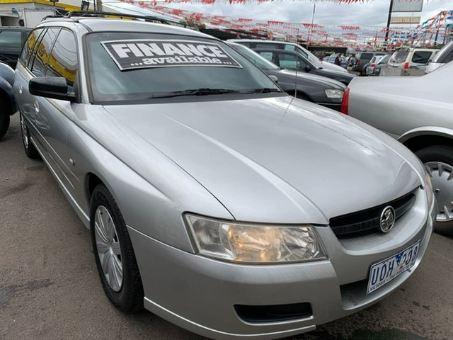 Used Holden Commodore VZ MY06 Executive, 2006 Holden Commodore VZ MY06 Executive Silver 4 Speed Automatic Wagon