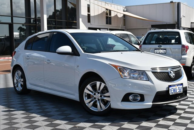Used Holden Cruze JH Series II MY14 SRi, 2014 Holden Cruze JH Series II MY14 SRi White 6 Speed Sports Automatic Hatchback