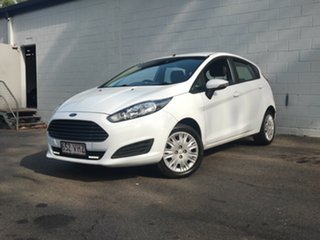 2014 Ford Fiesta WZ MY15 Trend PwrShift White 6 Speed Sports Automatic Dual Clutch Hatchback.