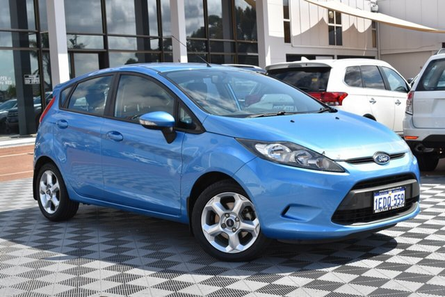 Used Ford Fiesta WS CL, 2009 Ford Fiesta WS CL Blue 5 Speed Manual Hatchback