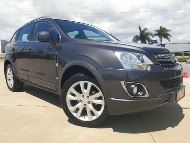 Used Holden Captiva CG MY13 5 LTZ, 2013 Holden Captiva CG MY13 5 LTZ Grey 6 Speed Sports Automatic Wagon