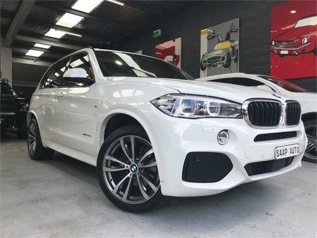 Used BMW X5 F15 xDrive30d, 2016 BMW X5 F15 xDrive30d White Sports Automatic Wagon