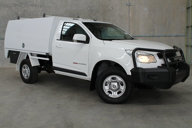 Used Holden Colorado RG MY15 LS, 2014 Holden Colorado RG MY15 LS White 6 Speed Sports Automatic Cab Chassis