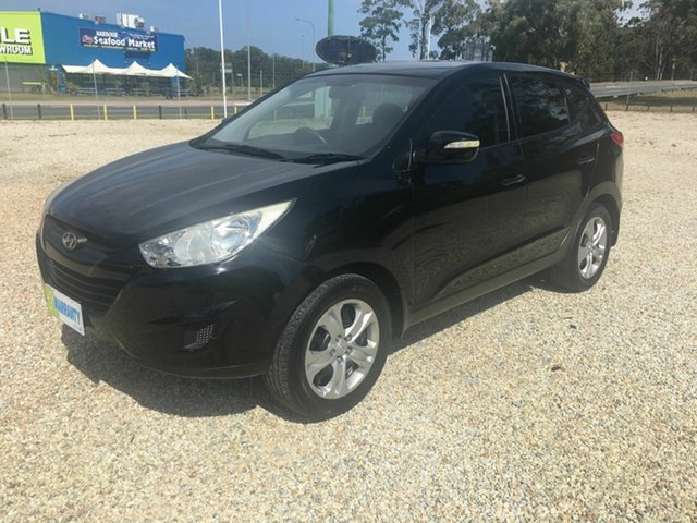 Used Hyundai ix35 LM MY11 Active (FWD), 2012 Hyundai ix35 LM MY11 Active (FWD) Black 6 Speed Automatic Wagon