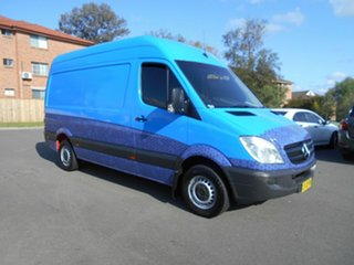 2012 Mercedes-Benz Sprinter 906 MY12 313 CDI MWB Blue 7 Speed Automatic Van.