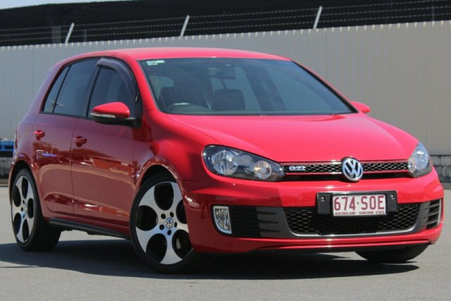 Used Volkswagen Golf VI MY12.5 GTI DSG, 2012 Volkswagen Golf VI MY12.5 GTI DSG Tornado Red 6 Speed Sports Automatic Dual Clutch Hatchback