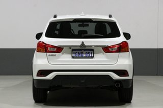 2018 Mitsubishi ASX XC MY18 LS (2WD) White Continuous Variable Wagon
