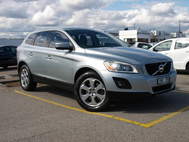 Used Volvo XC60  T6, 2009 Volvo XC60 T6 Silver 6 Speed Automatic Wagon