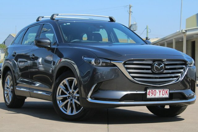 Used Mazda CX-9 TC Azami SKYACTIV-Drive i-ACTIV AWD, 2018 Mazda CX-9 TC Azami SKYACTIV-Drive i-ACTIV AWD Grey 6 Speed Sports Automatic Wagon