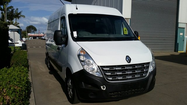 Used Renault Master X62 Mid Roof MWB Quickshift, 2012 Renault Master X62 Mid Roof MWB Quickshift White 6 Speed Seq Manual Auto-Clutch Van
