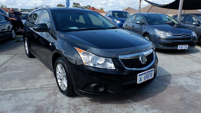 Used Holden Cruze JH Series II MY13 CD Sportwagon, 2013 Holden Cruze JH Series II MY13 CD Sportwagon Black 6 Speed Sports Automatic Wagon