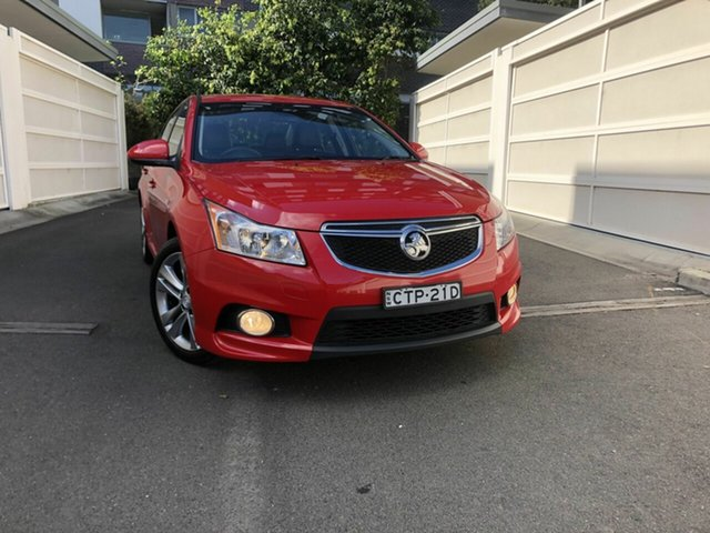 Used Holden Cruze JH Series II MY14 SRi Z Series, 2014 Holden Cruze JH Series II MY14 SRi Z Series Red 6 Speed Manual Sedan