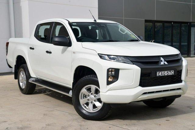Used Mitsubishi Triton MQ MY18 GLX Double Cab, 2018 Mitsubishi Triton MQ MY18 GLX Double Cab White 5 Speed Sports Automatic Utility