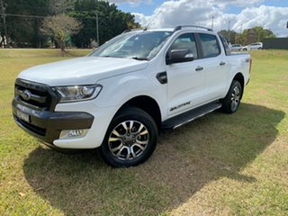 2018 Ford Ranger PX MkII MY18 Wildtrak 3.2 (4x4) White 6 Speed Automatic Dual Cab Pick-up.
