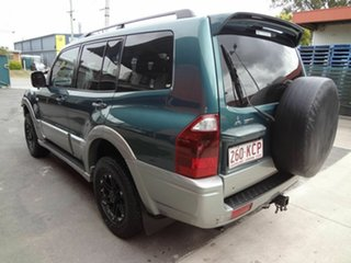 2003 Mitsubishi Pajero NP Exceed LWB (4x4) Green 5 Speed Auto Sports Mode Wagon