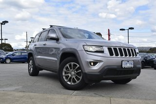 2013 Jeep Grand Cherokee WK MY2014 Laredo Silver 8 Speed Sports Automatic Wagon.