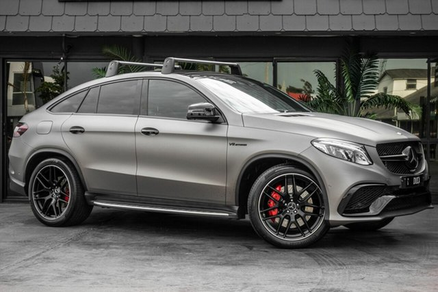 Used Mercedes-Benz GLE-Class C292 GLE63 AMG Coupe SPEEDSHIFT PLUS 4MATIC S, 2016 Mercedes-Benz GLE-Class C292 GLE63 AMG Coupe SPEEDSHIFT PLUS 4MATIC S Silver 7 Speed