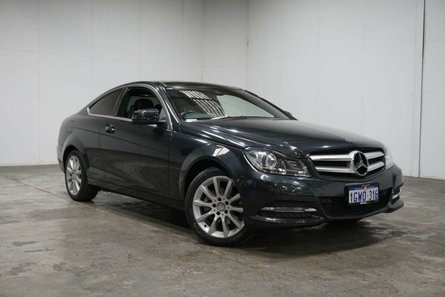 Used Mercedes-Benz C-Class C204 MY13 C180 BlueEFFICIENCY 7G-Tronic +, 2013 Mercedes-Benz C-Class C204 MY13 C180 BlueEFFICIENCY 7G-Tronic + Grey 7 Speed Sports Automatic