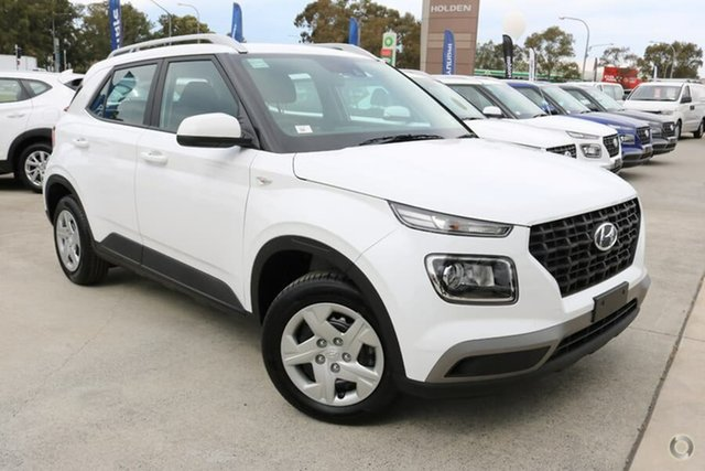 Demo Hyundai Venue QX MY20 Go, 2019 Hyundai Venue QX MY20 Go Polar White 6 Speed Automatic Wagon