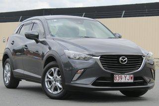 2018 Mazda CX-3 DK2W7A Maxx SKYACTIV-Drive Meteor Grey 6 Speed Sports Automatic Wagon.