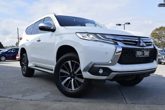 Used Mitsubishi Pajero Sport QE MY17 Exceed, 2017 Mitsubishi Pajero Sport QE MY17 Exceed White 8 Speed Sports Automatic Wagon