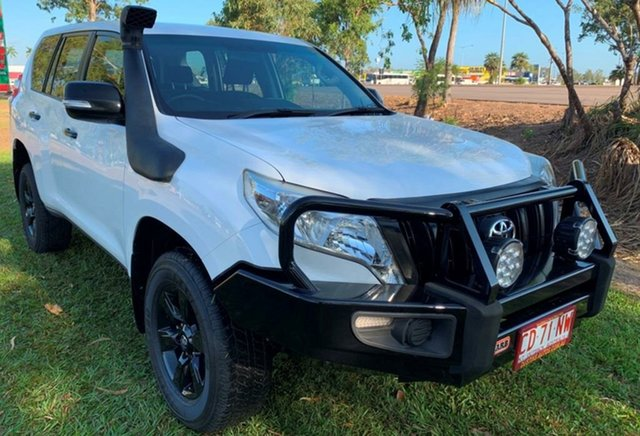Used Toyota Landcruiser Prado KDJ150R MY14 GX, 2015 Toyota Landcruiser Prado KDJ150R MY14 GX White 6 Speed Manual Wagon