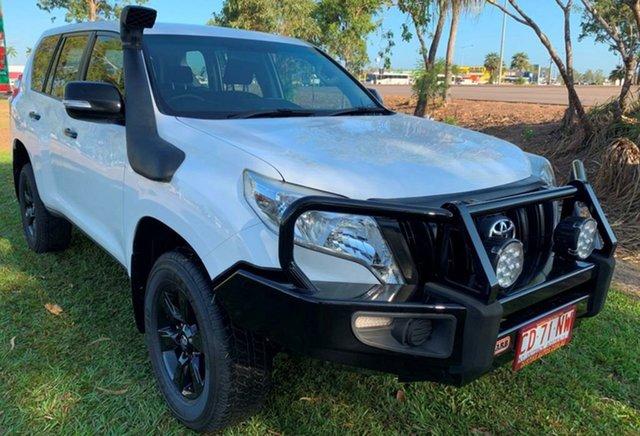 Used Toyota Landcruiser Prado KDJ150R MY14 GX, 2015 Toyota Landcruiser Prado KDJ150R MY14 GX White 6 Speed Manual Wagon