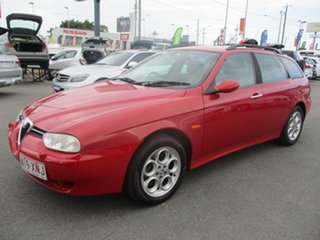 2003 Alfa Romeo 156 MY2004 JTS Red 5 Speed Manual Wagon.