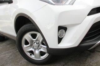 2018 Toyota RAV4 ASA44R GX AWD Glacier White 6 Speed Sports Automatic Wagon.