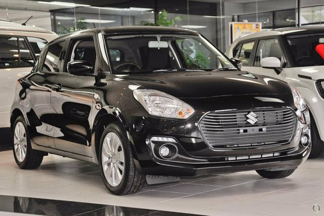 New Suzuki Swift AZ GL Navigator, 2019 Suzuki Swift AZ GL Navigator Super Black 1 Speed Constant Variable Hatchback