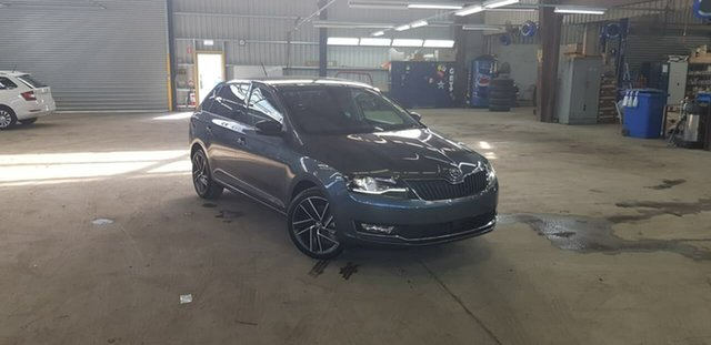 New Skoda Rapid NH MY19 Spaceback DSG, 2018 Skoda Rapid NH MY19 Spaceback DSG Grey 7 Speed Sports Automatic Dual Clutch Hatchback