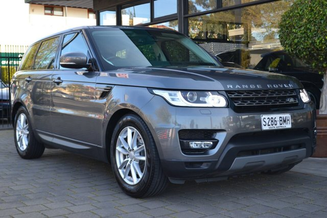 Used Land Rover Range Rover Sport L494 17MY TdV6 CommandShift SE, 2016 Land Rover Range Rover Sport L494 17MY TdV6 CommandShift SE Grey 8 Speed Sports Automatic Wagon