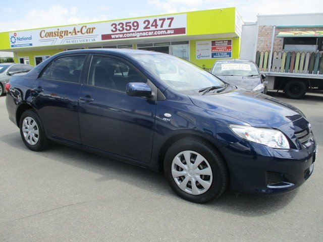 Used Toyota Corolla ZRE152R Ascent, 2010 Toyota Corolla ZRE152R Ascent Blue 4 Speed Automatic Sedan
