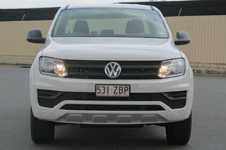 2019 Volkswagen Amarok 2H MY19 TDI420 4MOTION Perm Core Candy White 8 Speed Automatic Utility