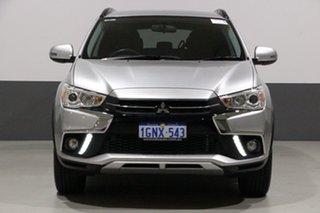 2018 Mitsubishi ASX XC MY18 LS (2WD) Silver Continuous Variable Wagon.